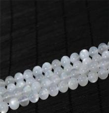 林華水晶 天然AAA級白月光散珠 奶油體月光石 頂級超美 水晶批發
