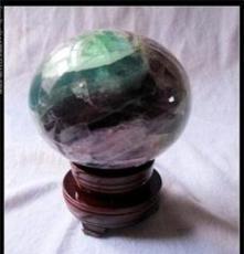 天然綠螢石水晶球助運轉運強力招財聚財助事業
