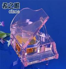 個性水晶工藝品 時尚潮流水晶擺件-小K9音樂鋼琴 家居擺件 送禮
