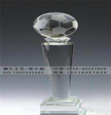 沈陽足球比賽水晶獎杯制作,足球協會水晶獎杯定做,水晶工藝品