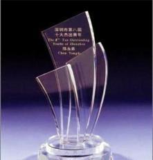 廣州銀行優秀員工水晶獎杯定做 廣州企業優秀員工水晶獎杯制造商