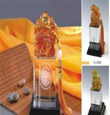 供應1廣州新品誠信雙贏擺件紀念禮品廣州琉璃高檔商務禮品