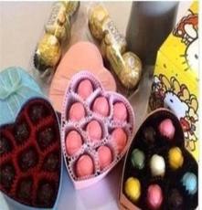 可批發巧可味顆純手工\DIYI love you巧克力禮盒