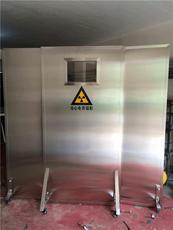 大量供应射线防护铅屏风家直销CT室防护铅屏