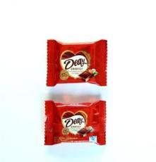 休閑食品巧克力批發 口感細膩香濃 入口即化金香涂層巧克力零嘴