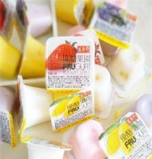 臺灣進口盛香珍優酪綜合水果味果凍布丁 每箱12斤 批發