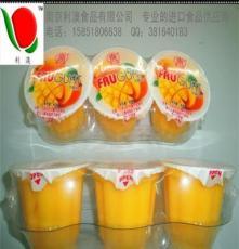 萱萱草莓布甸/芒果不甸/果凍/草莓芒果果凍/利澳食品