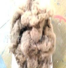 供应 用于无纺地毯 豆沙色涤纶纤维