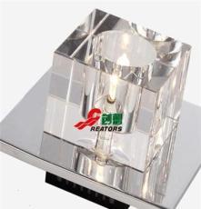 供應浦江水晶壁燈過道燈鏡前K9一級水晶燈飾配件中山古鎮供應點
