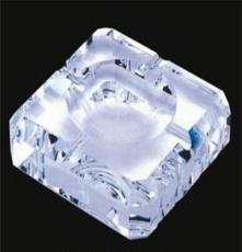 廠家直銷精致家居格子形水晶煙灰缸 辦公酒店用品 質量保證