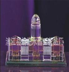 現貨 熱推成品水晶建筑 經典K9水晶樓模 水晶商務擺件 款式多