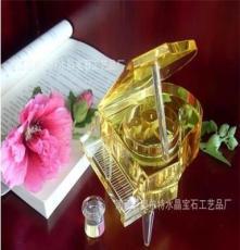 廠家供應水晶鋼琴 水晶音樂盒 水晶MP3鋼琴八音盒 生日禮品