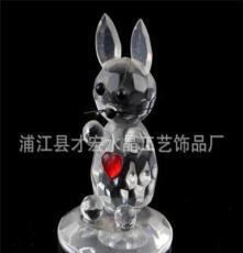 廠家直銷水晶兔 兔子 兔八哥