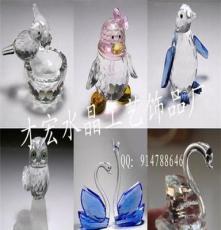 廠家直銷定制可愛水晶情侶QQ企鵝等小禮品