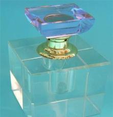 廠家直銷高檔水晶汽車香水瓶 水晶工藝品汽車內飾