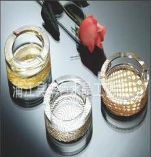 廠家直銷 創意煙灰缸批發 個性煙灰缸 高白料水晶玻璃 10CM