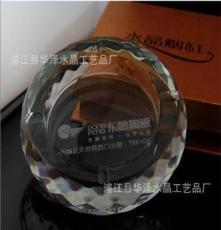 廠家直銷 陶瓷廣告水晶煙灰缸 水晶煙缸禮品 火爆促銷煙具