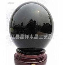 (廠家供應)高檔水晶禮品 烤漆水晶球擺件 各種顏色尺寸