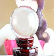 长期供应 精美清澈透明水晶球 人造水晶光球 k9水晶光球