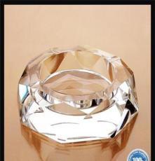 批發創意家居禮品水晶煙灰缸 優質彩印水晶煙灰缸