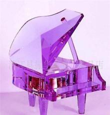 專業生產 供應水晶鋼琴音樂盒-情侶禮品-彩色水晶鋼琴音樂盒