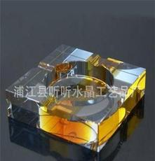 廠家直銷 八角 十六叫 方形 水晶k9煙灰缸包裝全市價格低