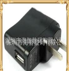 手机充电器厂家供应USB接口小台灯充电器 usb充电头 输出5V1A