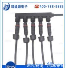 广东电线连接器F型路灯电源防水连接器