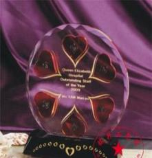 荊門最佳管理獎 鄂州銷售冠軍獎 孝感最具潛力獎 水晶獎杯獎牌