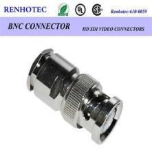 供應BNC公頭接RG6線 BNC連接器