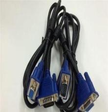 厂家直销 VGA线 1.5米 电脑连接线 显示器连接线 3+6