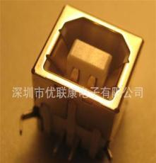 供應ulingconn/優聯康usb數據線插頭廠商直銷USB B型數據插座