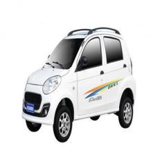 建設電動汽車圖騰款 四輪電動轎車  老年代步車