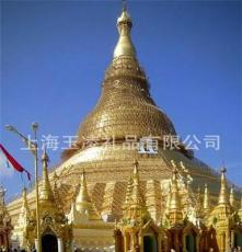JY72 缅甸 仰光大金塔 Shwe Dagon Pagoda 水晶摆件 水晶钟