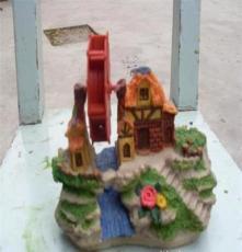 樹脂假山 魚缸裝飾 水族用品 花鳥魚蟲 風車32號