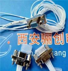 矩形連接器 9芯插頭帶針 J30J-9TJL-600MM帶線標