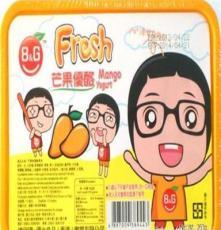 進口休閑零食品批發 香港優之良品果凍布丁 芒果優酪363g 24盒/箱