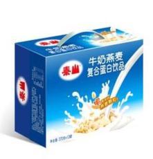 臺灣食品 泰山牛奶燕麥 廠家批發 營養飲料 禮盒裝 370ml 12瓶