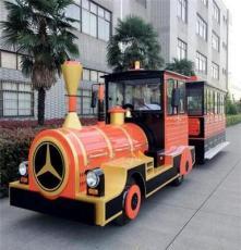 汽油电瓶观光小火车封闭观光火车供应