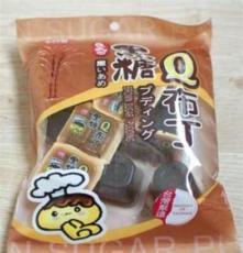 台湾美食 千口美 黑糖果冻Q布丁380g