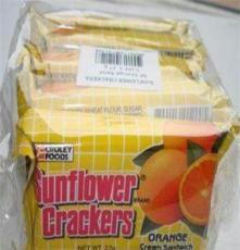 新品上市 向日葵橙味夹心薄饼270克