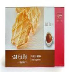 台湾国际品牌 一之乡天使薄饼-红茶味 超薄饼干90g