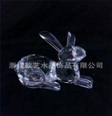 水晶小動物 水晶兔子 專業生產批發(可定做)