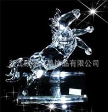 水晶小動物 十二生肖馬 專業生產批發(可定做)