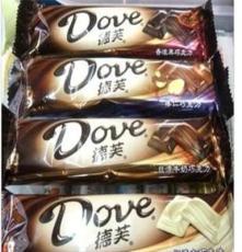 德芙巧克力43g條絲滑牛奶 摩卡 葡萄 榛仁黑巧克力 白巧克力