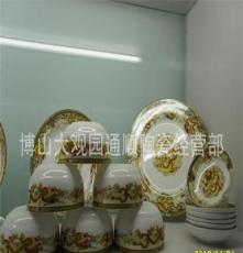29头高档骨质瓷釉中彩中餐具