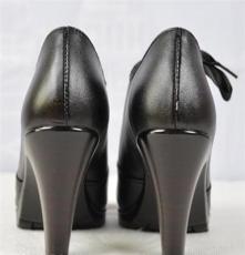 厂家直销2014新款舒适真皮深口真皮女鞋批发妈妈鞋女单鞋高跟鞋子