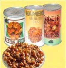 丹東日食食品有限公司 滑子蘑罐頭 歡迎洽談