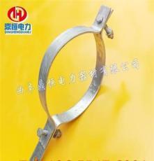 adss光纜抱箍 鑄鐵熱鍍鋅抱箍 電力抱箍供應商