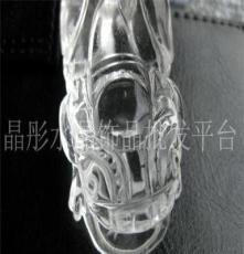 晶彤水晶 大号天然白水晶貔貅 聚财精品 手工雕刻水晶貔貅